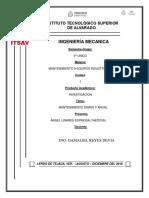 Investigacion Unidad 1 (Angel Linares Espinosa) Mantenimiento Diario, Mantenimiento Anual
