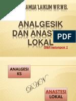 Analgesik Dan Anastesilokal