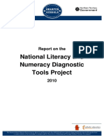national literacy and numeracy diagnostic tools report