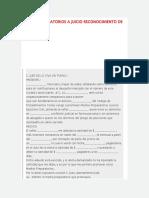 1.- Formulario Medios Preparatorios a Juicio Reconocimiento de Adeudo