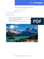 Full Day Torres Del Paine From Puerto Natales (Es)