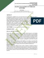 FRACTAL TRAFFIC MANAGEMENT IN WIRELESS NETWORK