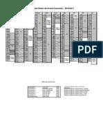 Planning atelier relais 2010 - 2011 pour collèges