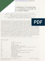 Experimental Validation of Condensing Fl