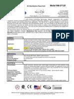 Hojas Técnicas y Dimensiones de Supresores de Picos