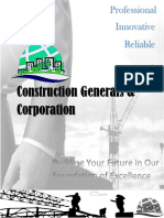 Construction Generals Corporation