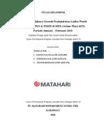 Paper TOWS DAN PSDM MATAHARI ATRIUM CDP ASSISTANT MANAGER