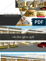 PROMO SEPTEMBER, WA +62 817-9622-976, Rumah dijual Malang