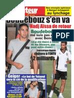 LE BUTEUR PDF du 08/10/2010