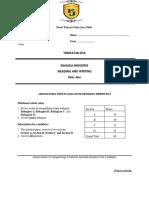 Form 2 PTFJ Exam