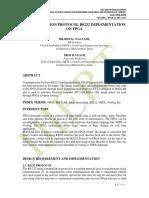 COMMUNICATION PROTOCOL RS232 IMPLEMENTATION ON FPGA