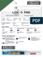 Boarding Pass Garuda Indonesia 4