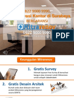 BERKUALITAS, Jasa Renovasi Kantor Surabaya, 0822 9000 9990