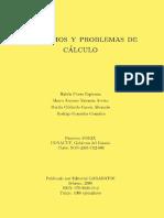 Ejercicios y Problemas de Cálculo - Rubén Florez Espinoza