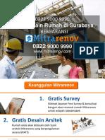 BERKUALITAS, Jasa Desain Rumah Surabaya, 0822 9000 9990,
