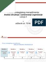 Lekcija 5 Analiza Okruženja i Usmeravanje Organizacijekll