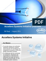 Accellera Systems Initiative CEDA Aug-2012