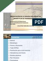 """Charla Magistral """"Primer Plan de Transmision Eléctrica"""""""