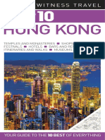 Hong Kong DK Eyewitness Top 10 Travel Guides Dorling Kindersley 2011