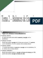 Balances de Energia - Tema Para Ciencias Ambient Ales