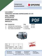 Bc63kb8a Dy152_153 Vendor Drawing n001 Air Compressors Sperre