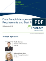 Data Breach Management Best Practices Insights Series | TrustArc