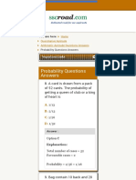 Probability Questions Answers SSC CGL Page 2 - Sscroad.com2