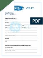 General Electric GE Employment Interview Question & Details.pdf