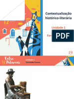 Contextualização Histórico-literária (Unidade 1)