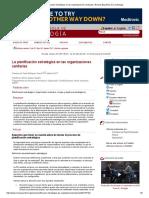 La Planificación Estratégica en Las Organizaciones Sanitarias _ Revista Española de Cardiología