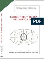 Utrera Torremocha Maria Victoria Estructura Y Teoria Del Verso Libre
