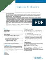 Tubing Data—Engineered Combinations MS-06-117