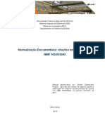 Manual Sumário Nbr6027 2012