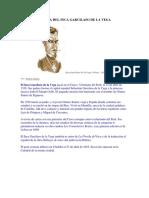 53209343 Breve Biografia Del Inca Garcilaso de La Vega