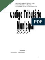 Código Tributário - LC 21-2000