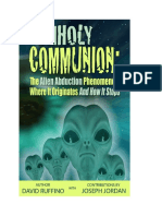 UnholyCommunion Kindle Format Rewritten With New Cover
