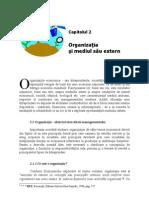 2.Organizatia Si Mediul Sau Extern