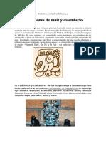 Tradiciones y Costumbres de Los Mayas