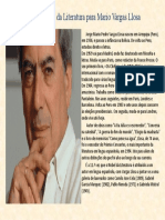 Prémio Nobel da Literatura para Mario Vargas Llosa
