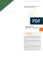 Compendio Estadístico de Prevención y Atención de Desastres 2007