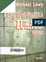 """LOWY, Michael. """"A Evolução Política de Lukács 1909-1929""""."""