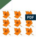 Mini Orange Leaves