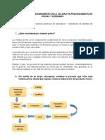 Adquisición y Control de Materia Prima