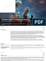 WEF New Physics of Financial Services