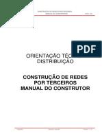 Celtins - Otd _03 Construção de Redes Por Terceiros - Manual Do Construtor