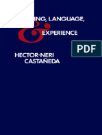 Hector-Neri Castaneda - Thinking, Language, And Experience (1989, University of Minnesota Press)