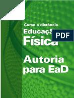 Curso a Distância Educação Física - Autoria Para Ead