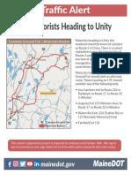 Unity Alternate Route