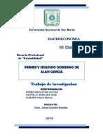 Gobierno de Alan Garcia Perez Macroeconomia