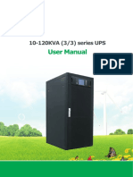 10-120KVA (33) UPS User Manual